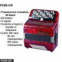 ROLING'S FISARMONICA CROMATICA 60 BASSI A BOTTONI FC60-CR
